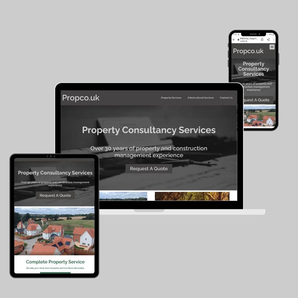 PropCo Affordable Web Design