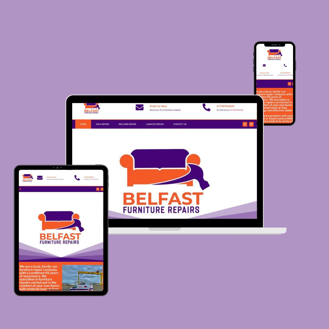 Belfast Furniture Affordable Web Design